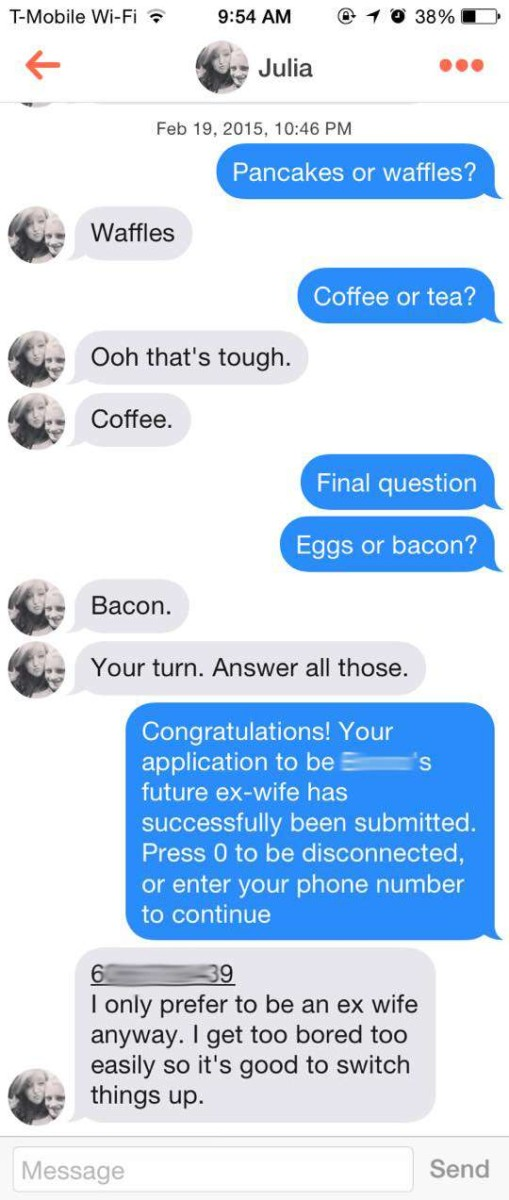 The Tinder Pick Up Line That Gave A Dude A 100 Success Rate Entertainment Novafm