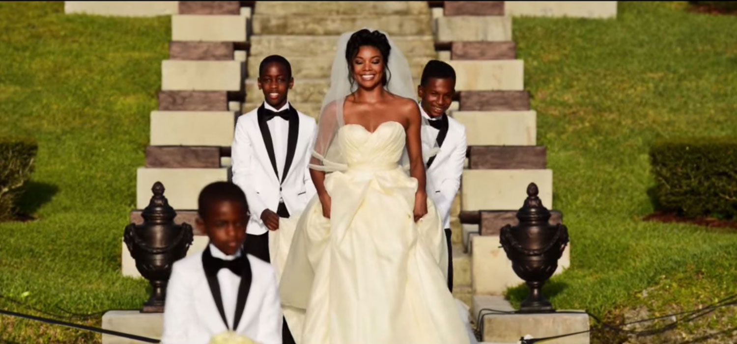 Gabrielle Union and Dwayne Wade's wedding video is INSANE ...  Gabrielle Union Wedding Pictures