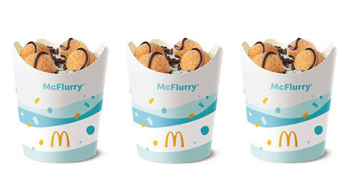 Donut Ball Mcflurry From Macca S Is Everything We Ve Ever Dreamed